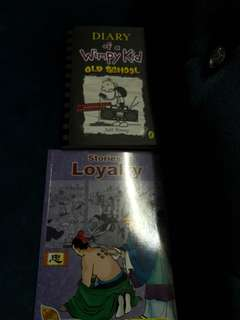 Diary of wimpy kid and stories of loyalty