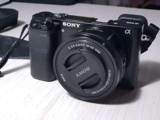 1 paket Kamera sony A6000