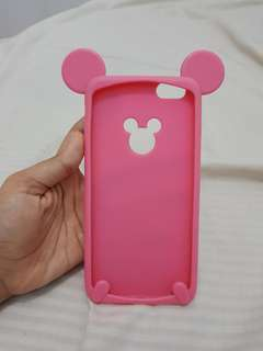 Case Minnie Mouse Pink Iphone 6+