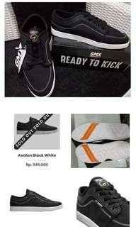 Sneakers geoff avalon black white