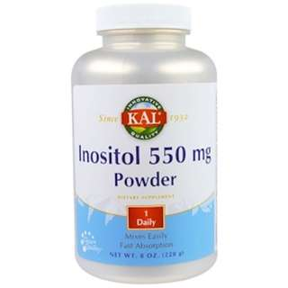 SALE KAL, Inositol 550 mg Powder, 8 oz (228 g)