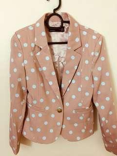 Peach Pink Blazer