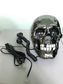 個性化骷髏骨頭電話座 (可作裝飾品)