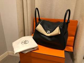 Brand New 100% Authentic Hermes Lindy 34 Black