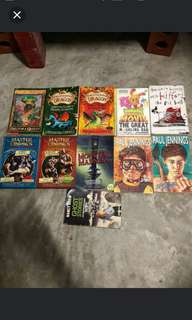 Box 1A cheap pls google young student children books exciting novels