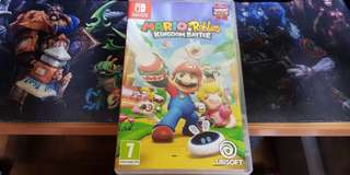 Mario rabbids Kingdom Battle for switch