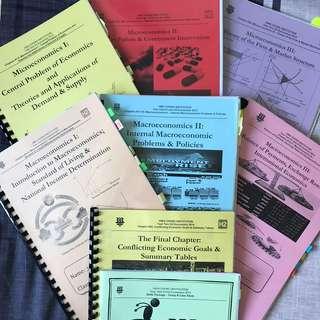 HCJC H2 Economics Notes Bundle