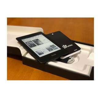 日版亞馬遜 Amazon kindle paperwhite 2012 電子書閱讀器 電子書廣告版