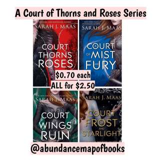 (ebook) A Court of Thorns and Roses Series by Sarah J Maas