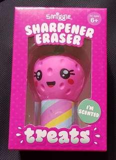 SMIGGLE ERASER+SHARPENER