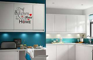30*30cm / 40*40cm Kitchen Heart Home Wall Cabinet Door Decal