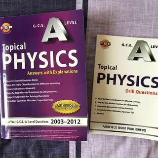 H2 Physics Topical Questions w/ Answers