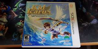 Kid Icarus uprising for Nintendo 3ds