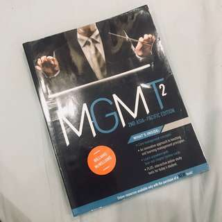 MGMT BOOK 2ND EDITION - JCU