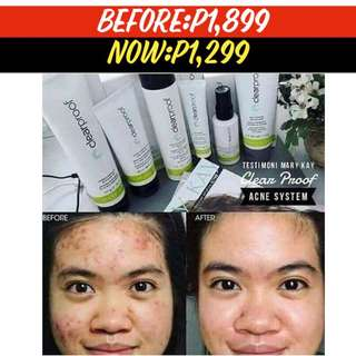 Acne System Set Mary Kay Clear Proof