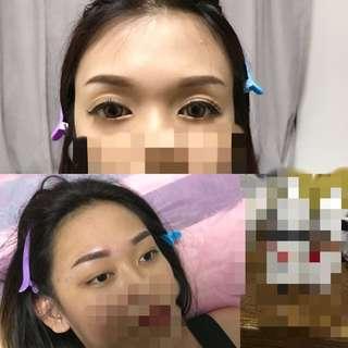 🌷 Embroidery eyebrow