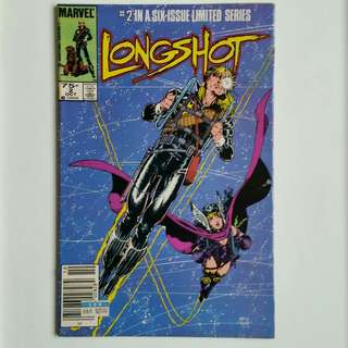 Longshot No.2 comic