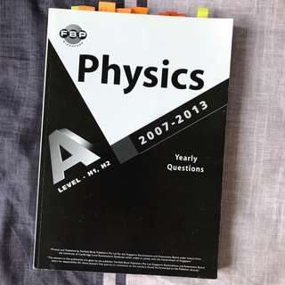H1/H2 Physics Past Yearly Questions