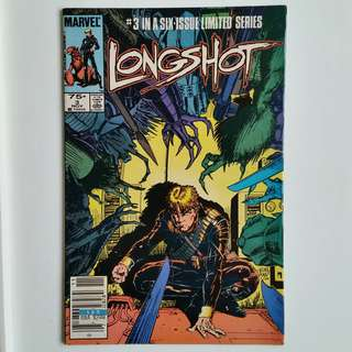 Longshot No.3 comic