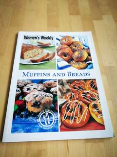 Cooking Book Women's weekly muffin and bread.