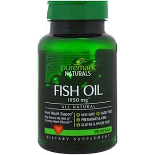 PureMark Naturals, Fish Oil, 1950 mg, 90 Softgels