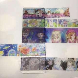 Colorful View Washi Tape Sample Set
