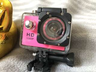 FULL HD 1080P sport cam waterproof 📷 💦