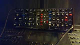 Behringer Model D synthesizer module