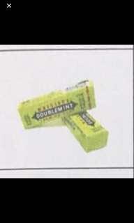 🍬 Doublemint綠箭香口膠支裝(20支一套)
