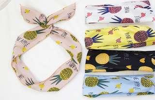 Pineapple Summer Headband