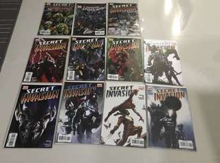 Marvel Comics Secret Invasion