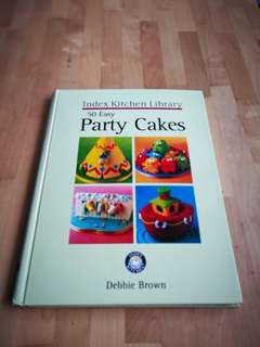 Cooking book Party Cakes - Hardcover