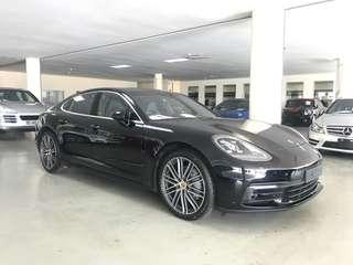 UNREG RECOND Porsche Panamera 4S 2.9 FACELIFT 2016
