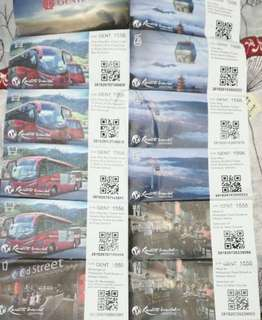 Genting Tickets Selling Cheap