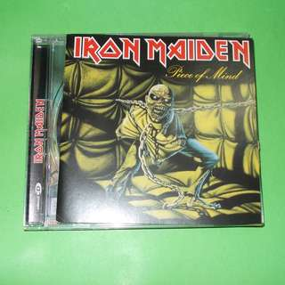 CD IRON MAIDEN : PIECE OF MIND ALBUM (1998) NWOBHM DIO JUDAS PRIEST