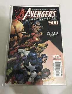 Marvel Comics Avengers #500