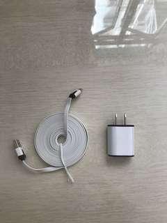 日本旅行外遊2米充電線連轉接器