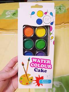 MOVING OUT SALE! Water Colours 12 Colour+Free brush
