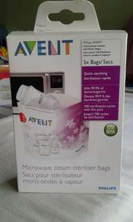 Brand new Philips Avent steam sterilizer