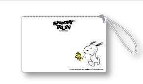 Snoopy Run Purse