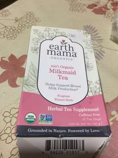 Earth Mama 100% Organic Milkmaid Tea/ Nursing Tea