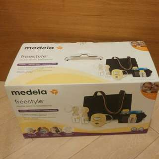 Medela free style double electric breastpump 電雙泵