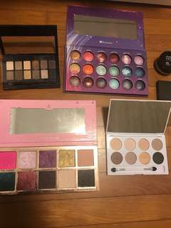 MAKEUP DECLUTTER ALL AUTHENTIC AND LIGHTLY USED OR BRAND NEW