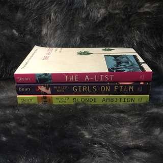 The A List Books 1-3 Bundle