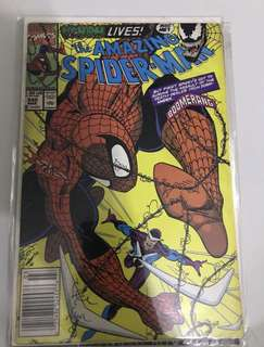 Amazing Spider-Man #345