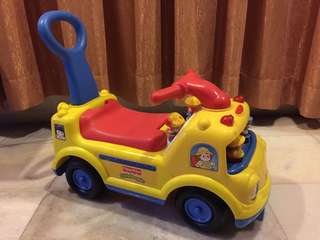 Fisher Price Little People School Bus Ride On