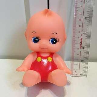 Kewpie bibi聲 沙律Bb 12cm 丘比 軟膠 公仔 昭和娃娃