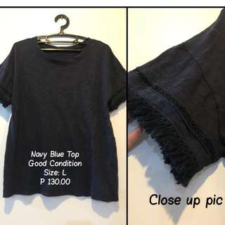 Selected Good Condition Top ; Size: M-L