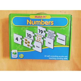 Match It! Numbers Educational Toy