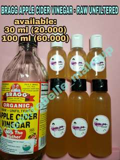 Shared in bottle_BRAGG APPLE CIDER VINEGAR - RAW (UNFILTERED)